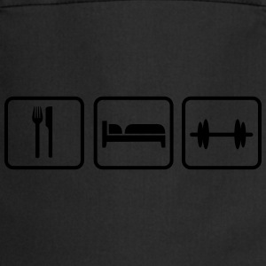 Eat Sleep Lift, Eat Sleep Gym, Eat Sleep Train Canotte - Grembiule da cucina