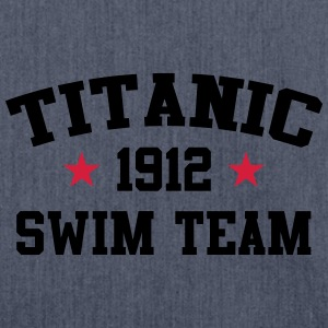 Titanic 1912: Schwimm - Team T-Shirts - Schultertasche aus Recycling-Material