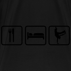 Eat Sleep Breakdance Bolsas y mochilas - Camiseta premium hombre
