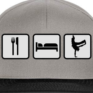 Eat Sleep Breakdance Magliette - Snapback Cap