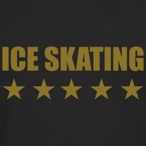 Ice Skating Hoodies - Men's Premium Longsleeve Shirt