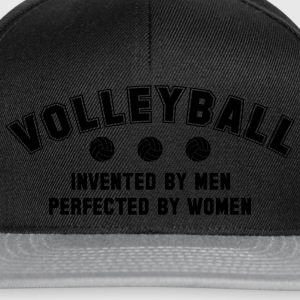 Volleyball: invented by men, perfected by women Bluzy - Czapka typu snapback