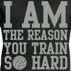 I am the reason you train so hard T-shirts - Mannen sweatshirt van Stanley & Stella