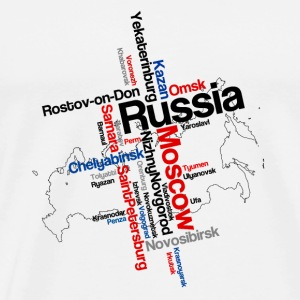 RUSSIA Bottles & Mugs - Men's Premium T-Shirt