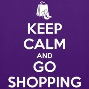 Keep Calm and Go Shopping T-Shirts - Tote Bag