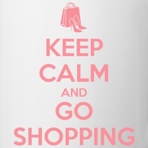 Keep Calm and Go Shopping T-Shirts - Mug