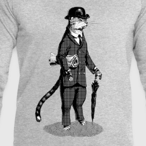 Business Cat T-Shirts - Men's Sweatshirt by Stanley & Stella