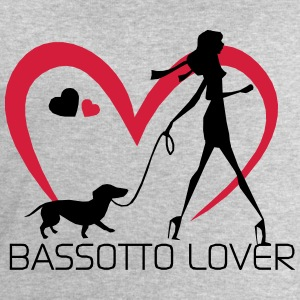 I love walking with my Bassotto Maglie a manica lunga - Felpa da uomo di Stanley & Stella