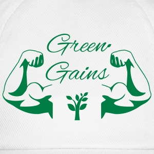 Green Gains T-Shirts - Vegan Power! - Baseball Cap
