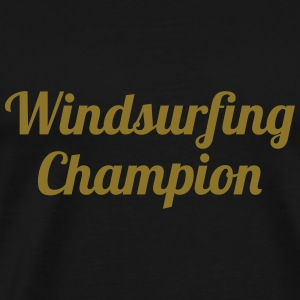 Windsurfing Champion Sweats - T-shirt Premium Homme