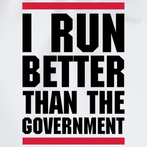Run Better Than The Government  Hoodies & Sweatshirts - Drawstring Bag