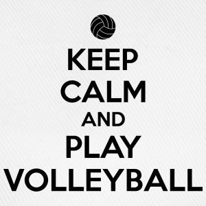 Keep calm and play volleyball T-Shirts - Baseball Cap