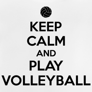 Keep calm and play volleyball Maglietta a maniche lunghe - Maglietta per neonato
