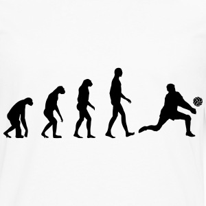 Evolution Volleyball Camisetas - Camiseta de manga larga premium hombre