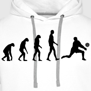 Evolution Volleyball T-Shirts - Men's Premium Hoodie