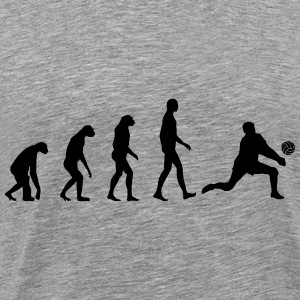 Evolution Volleyball Long Sleeve Shirts - Men's Premium T-Shirt
