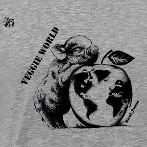 One veggie world - Männer Premium T-Shirt