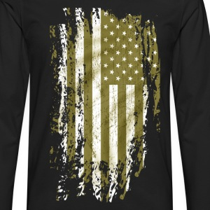 us army grunge style Tee shirts - T-shirt manches longues Premium Homme