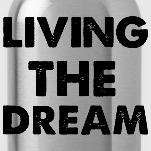 Living Dream T-Shirts - Water Bottle