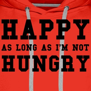 Hungry T-Shirts - Men's Premium Hoodie