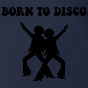 born to disco personnage Tee shirts - Body bébé bio manches courtes