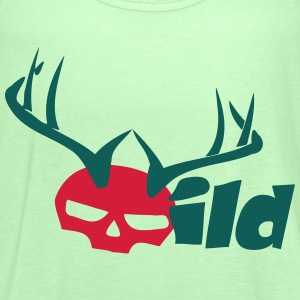 wildskull T-Shirts - Women's Tank Top by Bella