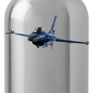 Jet F-16 Fighting Falcon Shirts - Water Bottle