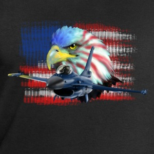 Jet F-16 Fighting Falcon T-shirts - Mannen sweatshirt van Stanley & Stella