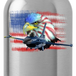 Jet F-16 Fighting Falcon T-Shirts - Water Bottle