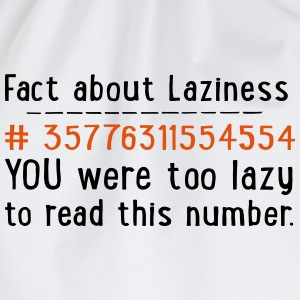 lazy T-Shirts - Turnbeutel