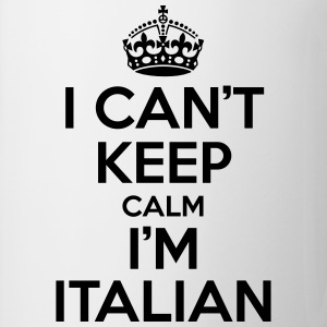 I can't keep calm i'm Italian T-shirts - Mugg