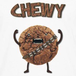 Funny Nerd Humor - Chewy Chocolate Cookie Wookiee Casquettes et bonnets - T-shirt manches longues Premium Homme