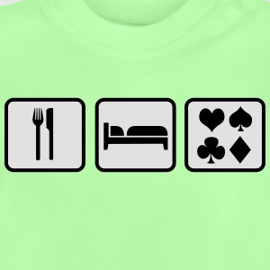 Eat Sleep Poker Shirts - Baby T-shirt