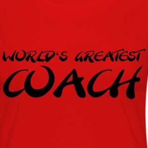 World's greatest Coach T-skjorter - Premium langermet T-skjorte for kvinner