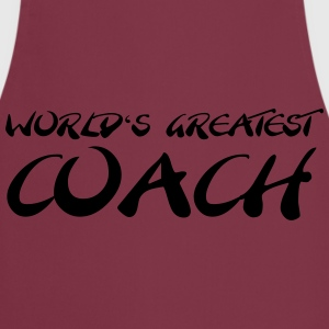 World's greatest Coach T-shirts - Keukenschort