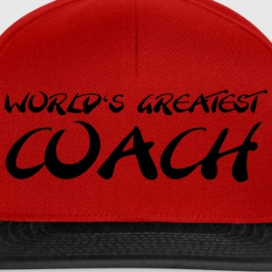 World's greatest Coach T-Shirts - Snapback Cap