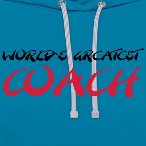 World's greatest Coach Tee shirts - Sweat-shirt contraste