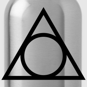 Eye of god, circle, symbol, triangle, witchcraft T-Shirts - Water Bottle
