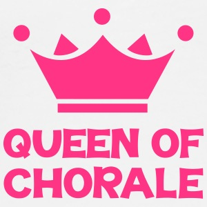 Queen of Chorale Kasketter & Huer - Herre premium T-shirt