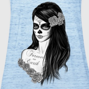 La Catrina schwarz weiß T-Shirts - Women's Tank Top by Bella