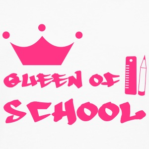 Queen of School Camisetas - Camiseta de manga larga premium hombre