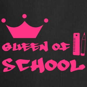 Queen of School Camisetas - Delantal de cocina