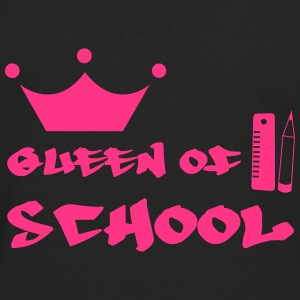 Queen of School Shirts - Men's Premium Longsleeve Shirt