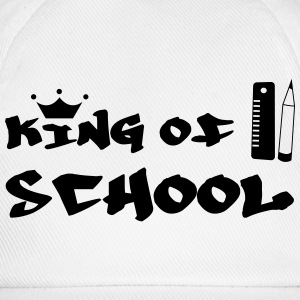 King of School Camisetas - Gorra béisbol