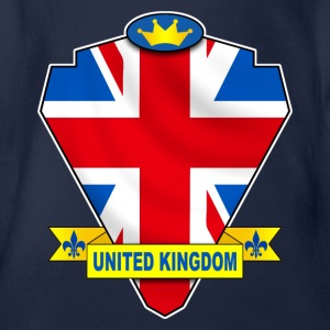 united kingdom Tee shirts - Body bébé bio manches courtes
