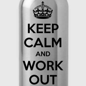 Keep Calm Work Out Sweaters - Drinkfles