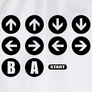 Game Cheat Code  T-shirts - Gymtas