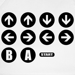 Game Cheat Code  T-shirts - Basebollkeps