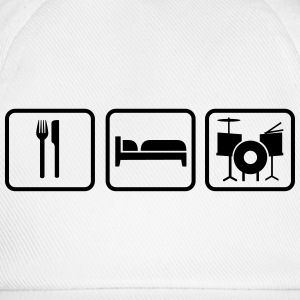 Eat Sleep Schlagzeug, Eat Sleep Drums Tazze & Accessori - Cappello con visiera