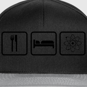 Eat Sleep Science Magliette - Snapback Cap